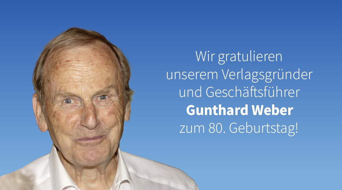 80. Geburtstag von Gunthard Weber