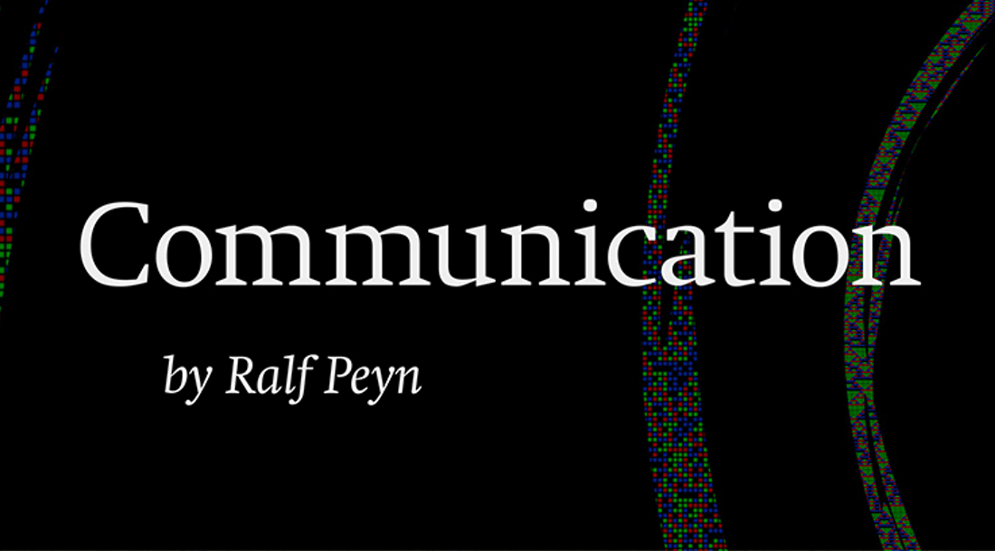 Communication – Reorganization of Undetermined