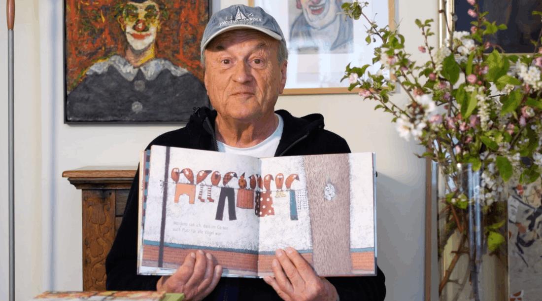 Dietrich Mattausch liest vor