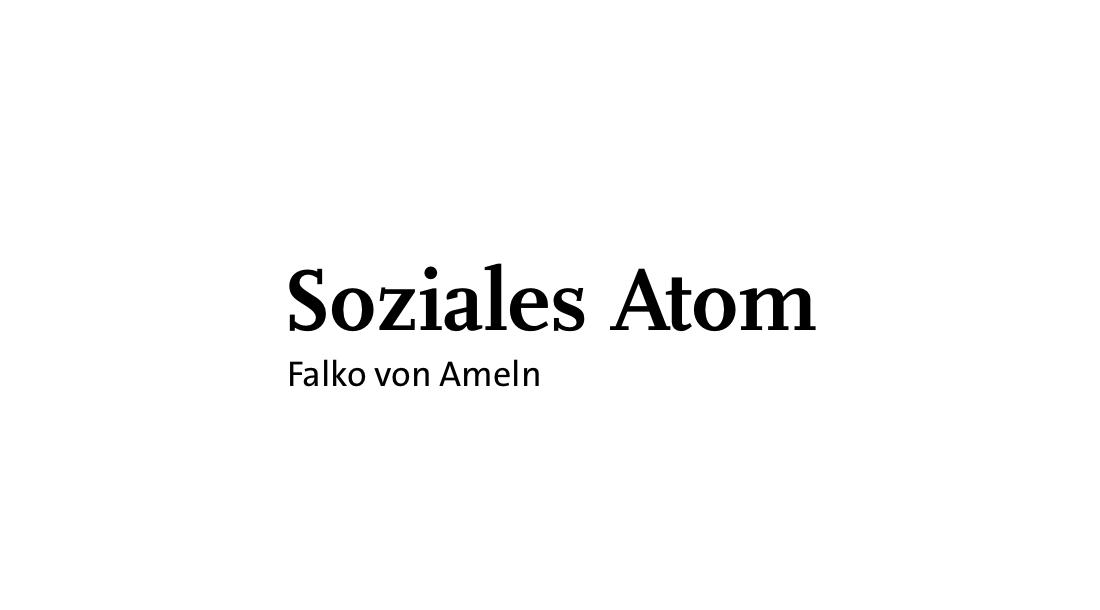 Soziales Atom