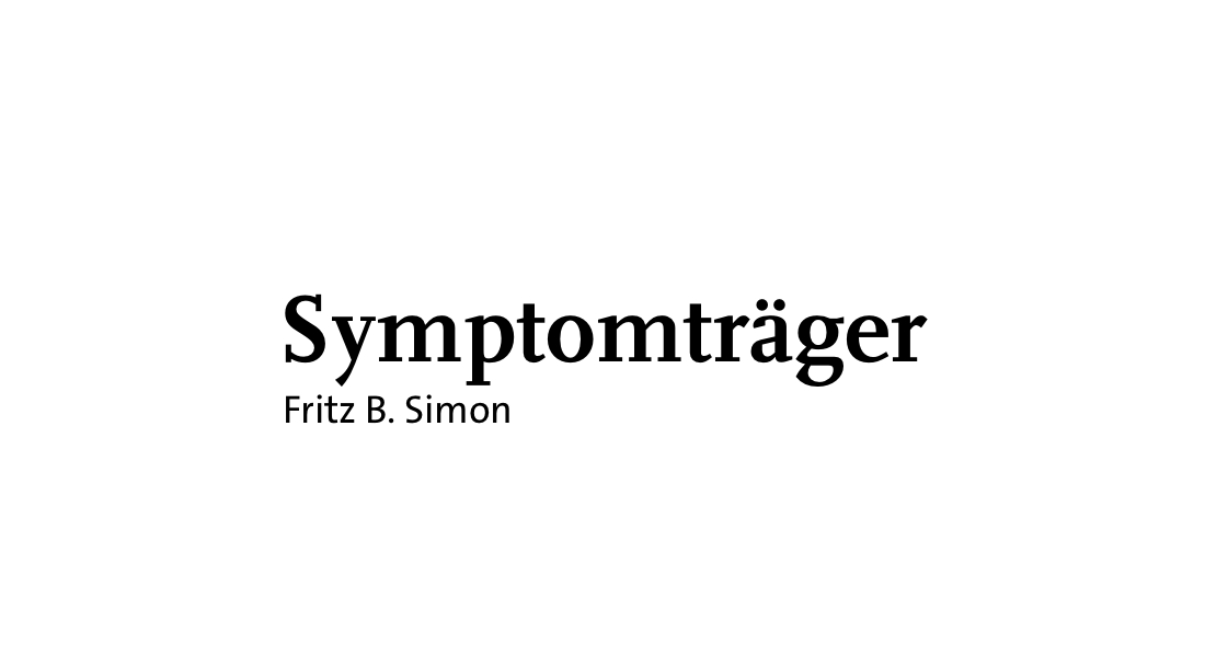 Symptomträger