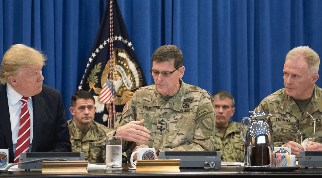 Militärs vs. Trump