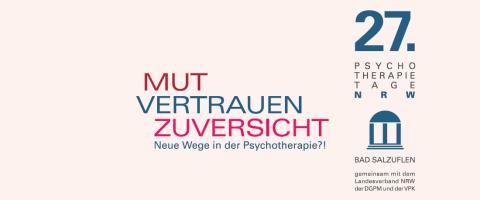 27. Psychotherapietage NRW